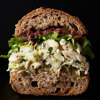 Lemon-Caper Tuna Sandwich.