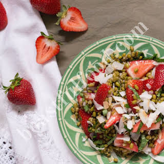 Strawberry Mung Bean Salad.