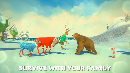 ❄ Deer Simulator Christmas Game 3D Family Xmas 1.3 screenshots 3