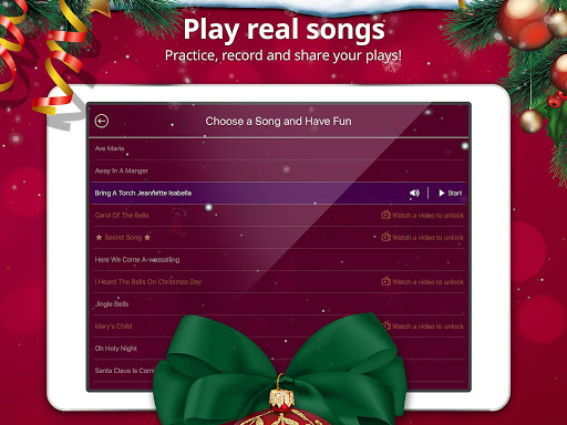 Christmas Piano: Music & Games 1.0.2 screenshots 8