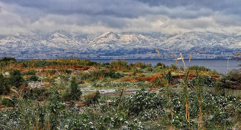 31 dicembre 2014 ( dopo ventanni la neve a reggio calabria di Fiorenza Aldo Photo