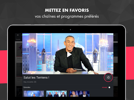 myCANAL, vos programmes en live ou en replay 3.3.9 screenshots 9