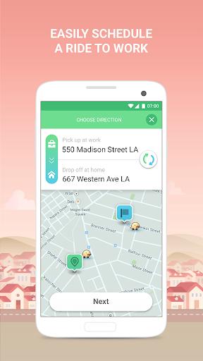 Waze Carpool - Get a Ride Home & to Work Screenshot