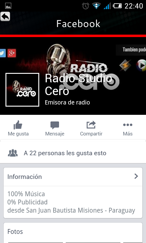 RadioStudioCero- screenshot