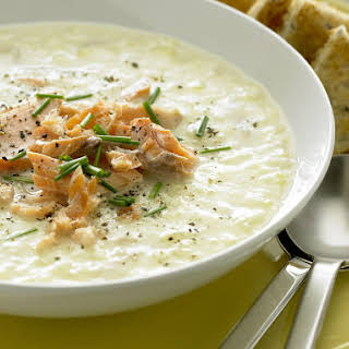 Smoked Salmon Soup.