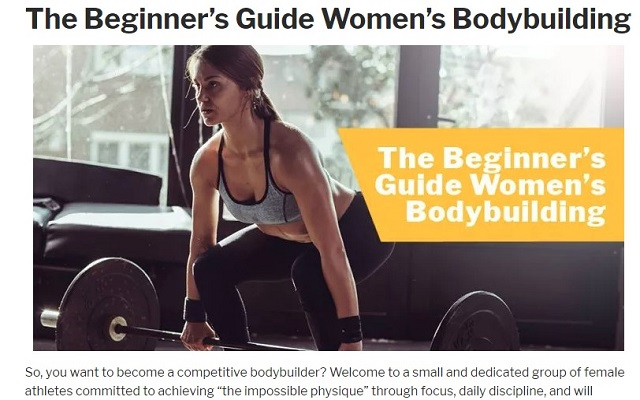 A Blog About Body Building Guide
