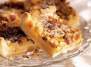 Toasted Hazelnut Bars Recipe