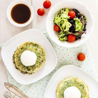 Korean Kale Pancakes.