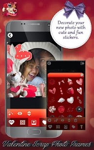 Valentine Scrap Photo Frames - náhled