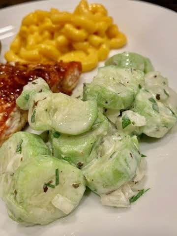 Smashed Cucumbers