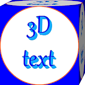 3D Text Write and Share