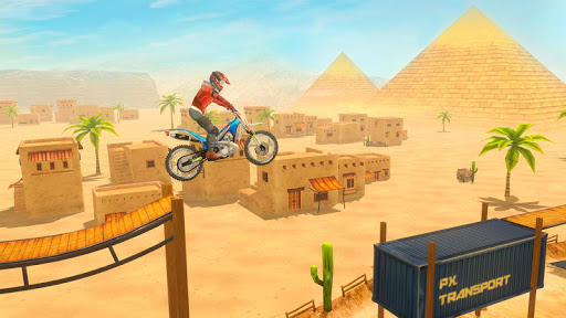 Bike Stunt 2 New Motorcycle Game - New Games 2020 android2mod screenshots 9