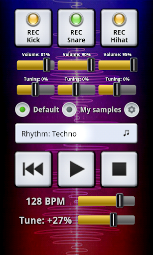 My BeatBox screenshot 1