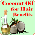 Coconut oil for Hair Benefits icon