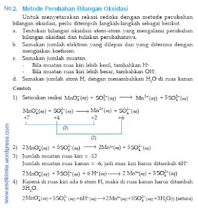 Kumpulan Soal Essay Kimia Reaksi Redoks Dan Jawaban