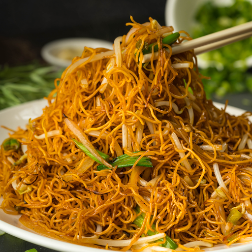 Fried Noodle with Bean Sprout