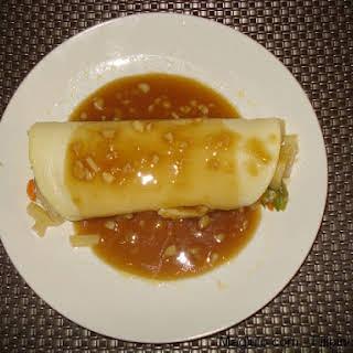 Filipino Recipe Lumpiang Sariwa (Fresh Lumpia).