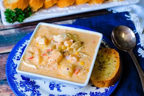 Kelly's Kick'n MD Seafood Chowder