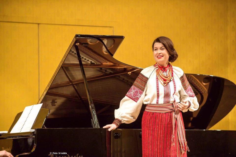 Солістка Віденської опери Зоряна Кушплер (фото з офіційної ФБ-сторінки)