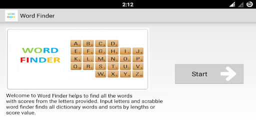 Word Finder Scrabble Solver   Apps on Google Play
