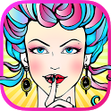 Fashion Adult Coloring Books icon