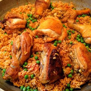 Drunken Rice & Chicken.