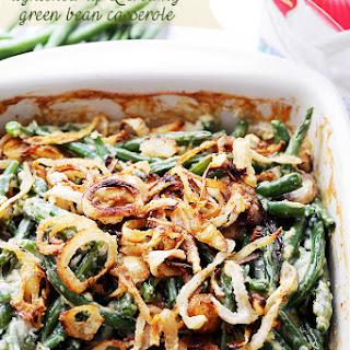 Lightened-Up Creamy Green Bean Casserole