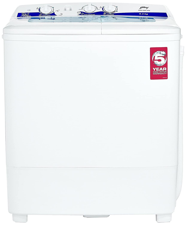 Godrej 6.2 kg GWS 6203 PPD Semi-Automatic Top Loading Washing Machine