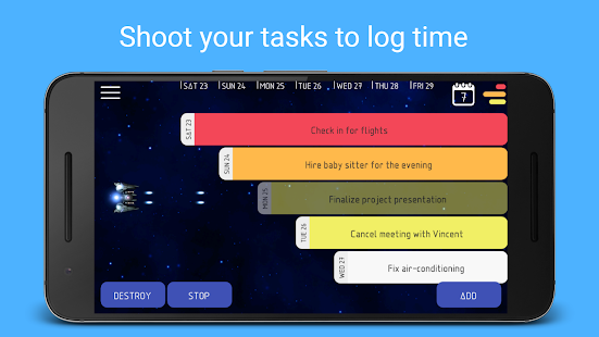 Kosmos - Work Time Tracker, Job Timesheet Screenshot