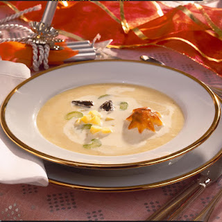 Creamy Celeriac and Potato Soup