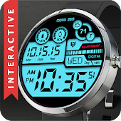 Hybrid 360 Digital Watch Face