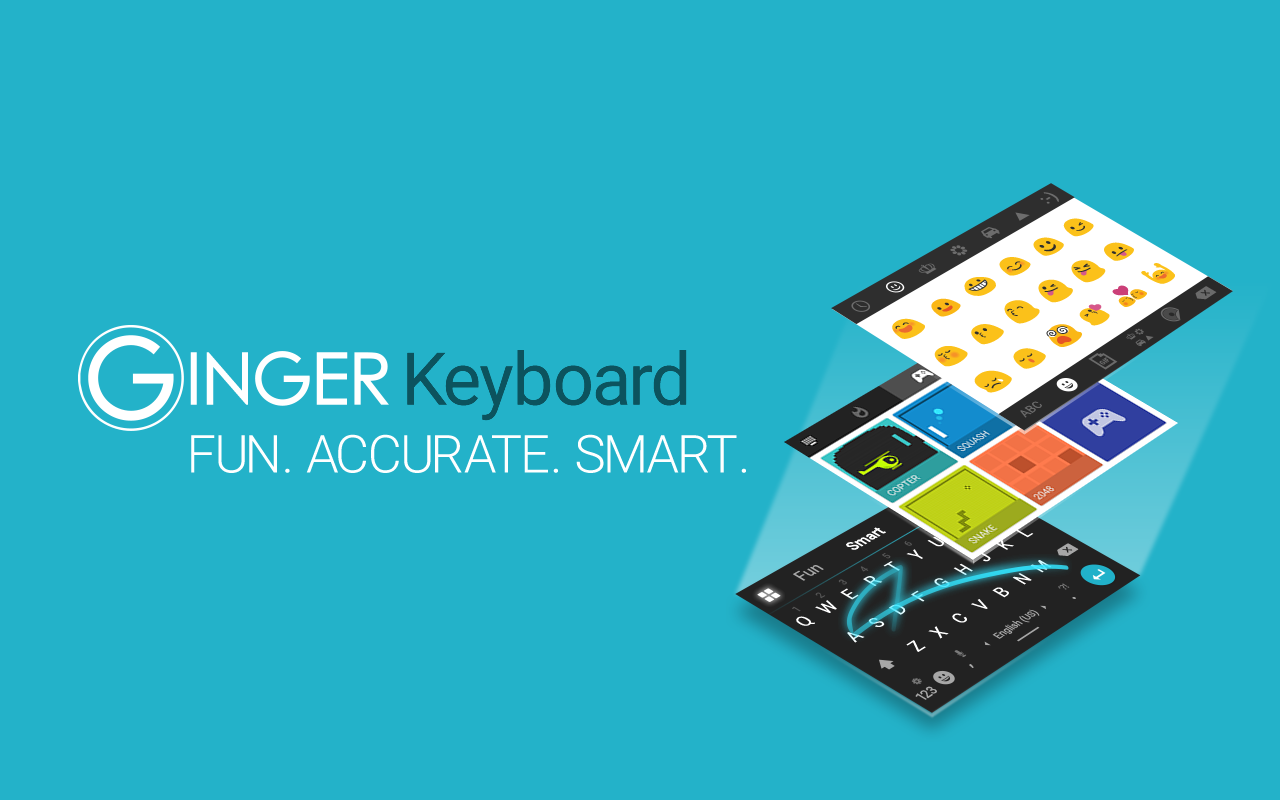 Ginger Keyboard Emoji Keyboard- screenshot