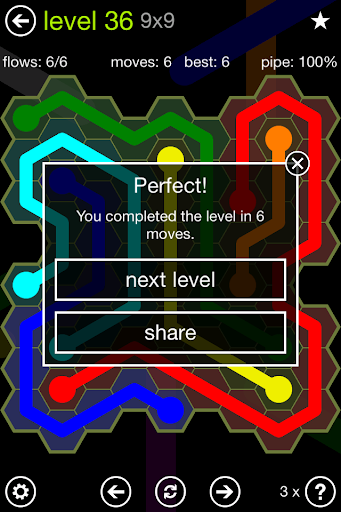 Flow Free: Hexes screenshot 2