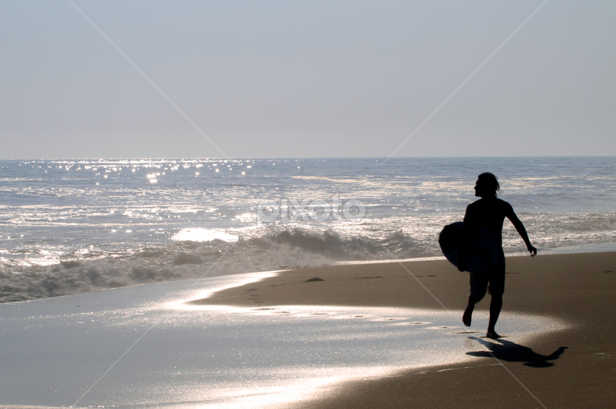 Surfer coming back by Cristobal Garciaferro Rubio - Sports & Fitness Other Sports
