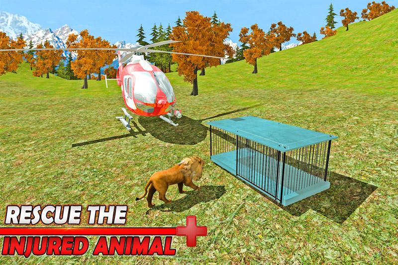 Animal Rescue: Army Helicopter- screenshot