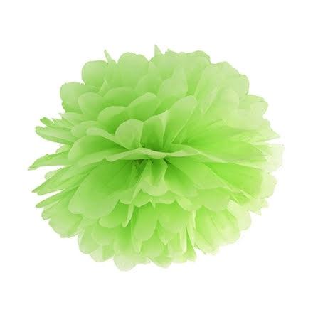 Pom pom - grön 35 cm