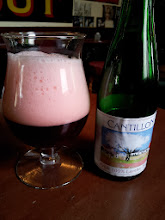 Photo: I had to take a short break from cask ale at Elm Tree to enjoy an amazing Cantillon Kriek lambic.