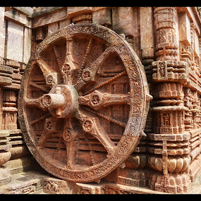 The Great Wheel of Konark by Ruhi Chanda - Buildings & Architecture Architectural Detail
