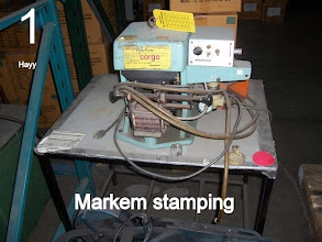 Photo: Markem Stamping machine 1