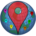 My GPS Locations icon