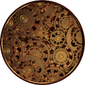 Steampunk Gears Live Wallpaper