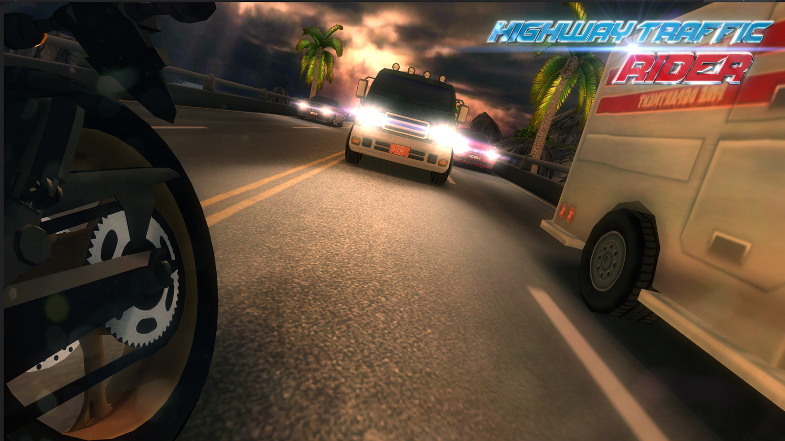 Screenshots of Highway Traffic Rider for iPhone
