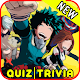 Download BNHA Boku No Hero Anime héroes Quiz Academy Game For PC Windows and Mac
