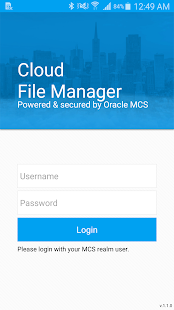 File Manager from Smartface- screenshot thumbnail
