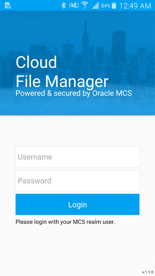 File Manager from Smartface- screenshot