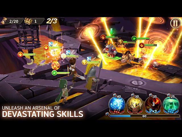 android Shards of Magic Screenshot 1