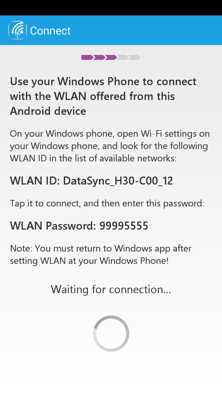 Switch to Windows Phone screenshot #3