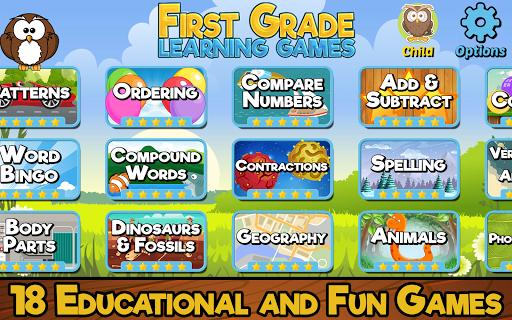First Grade Learning Games screenshots 1