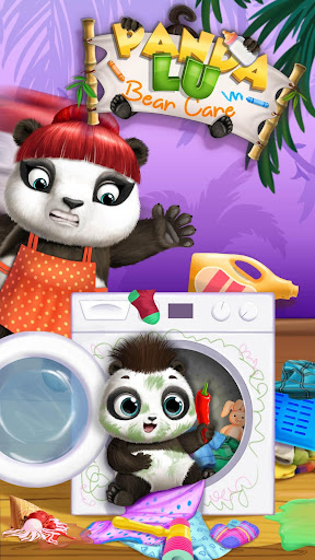 Panda Lu Baby Bear Care 2 - Babysitting & Daycare  screenshots 1