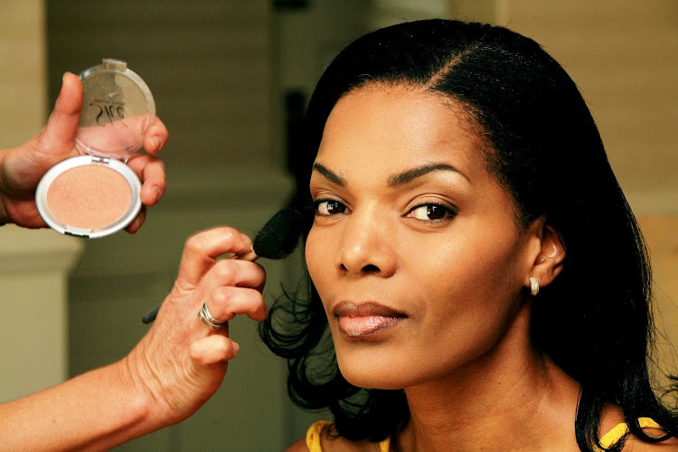 "Connie Ferguson in 2008, when the ""Generations"" actress signed up as a spokesperson for Garnier."